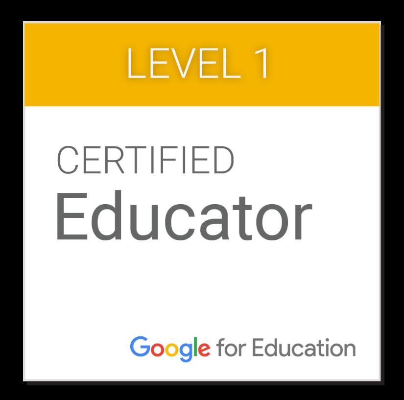 Google Certified Educator Level1